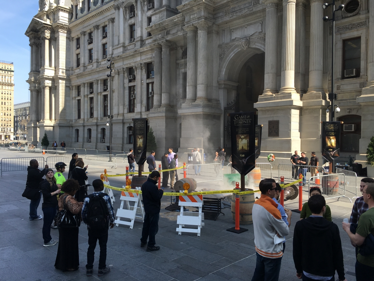 Game of Thrones at Dilworth Park
