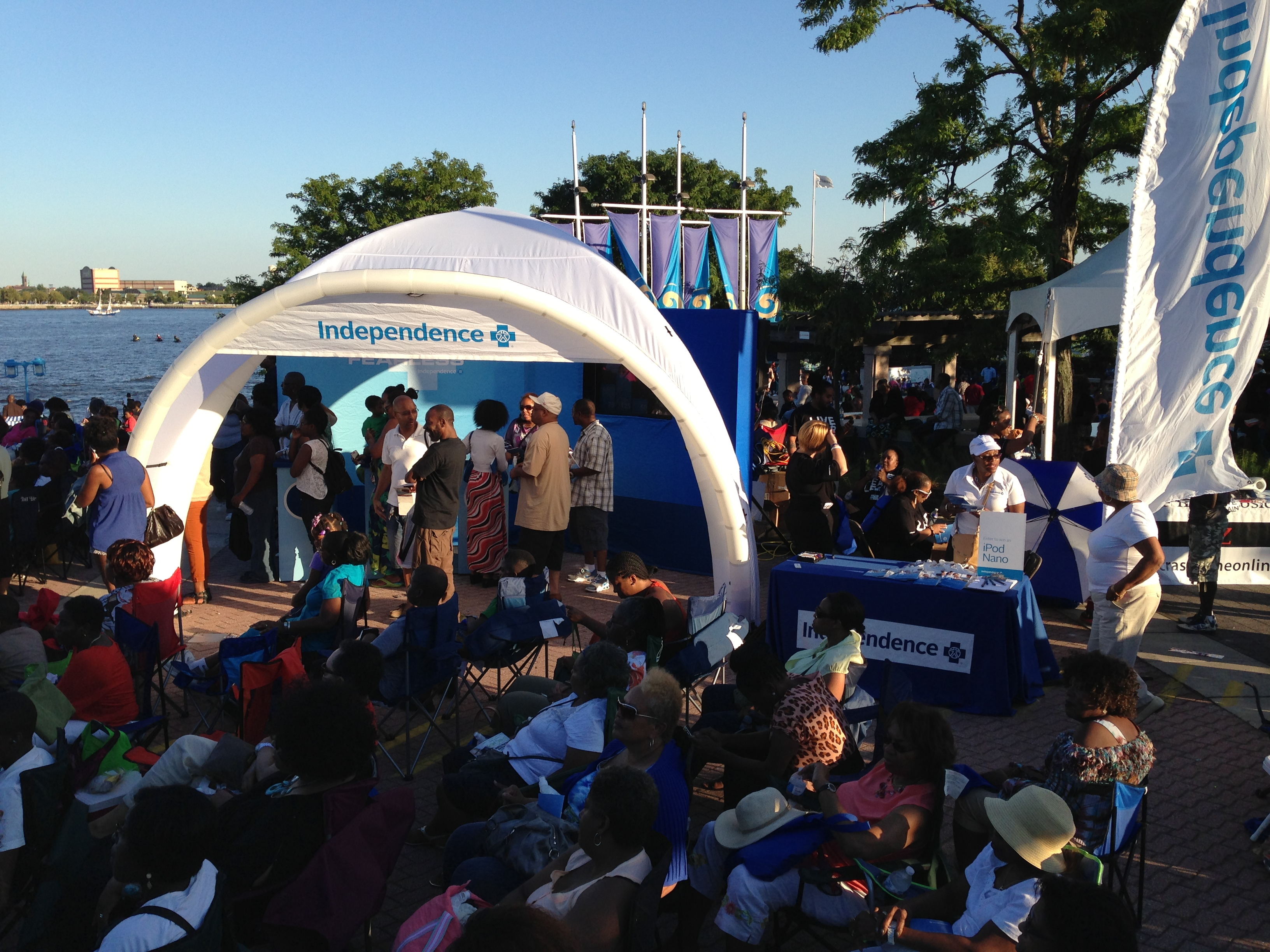 Independence Blue Cross at Penn's Landing