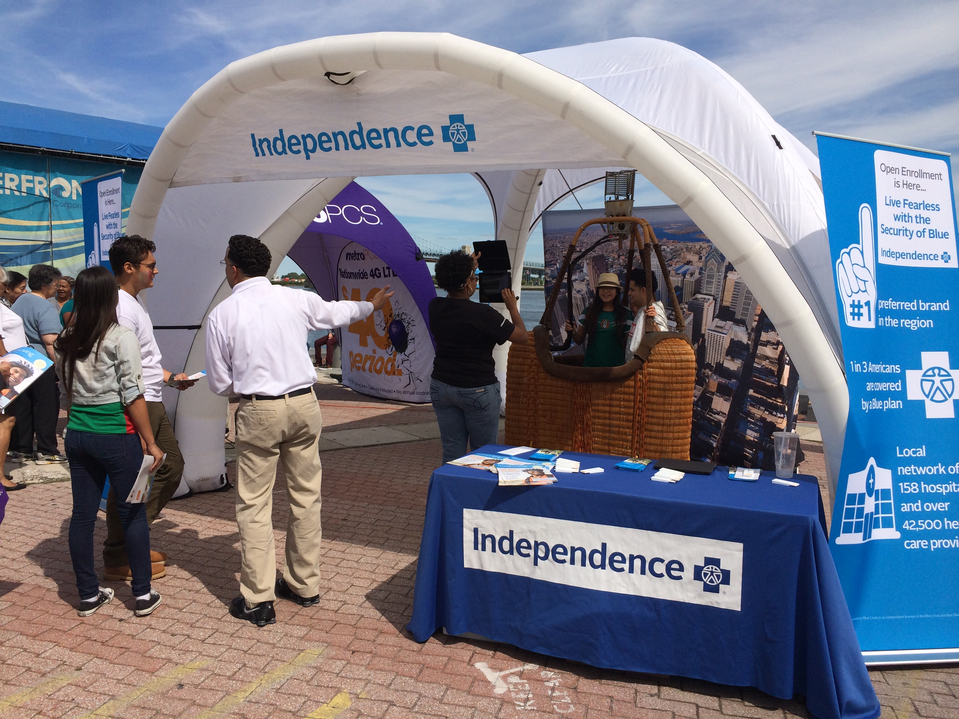 Independence Blue Cross at Mexican Festival