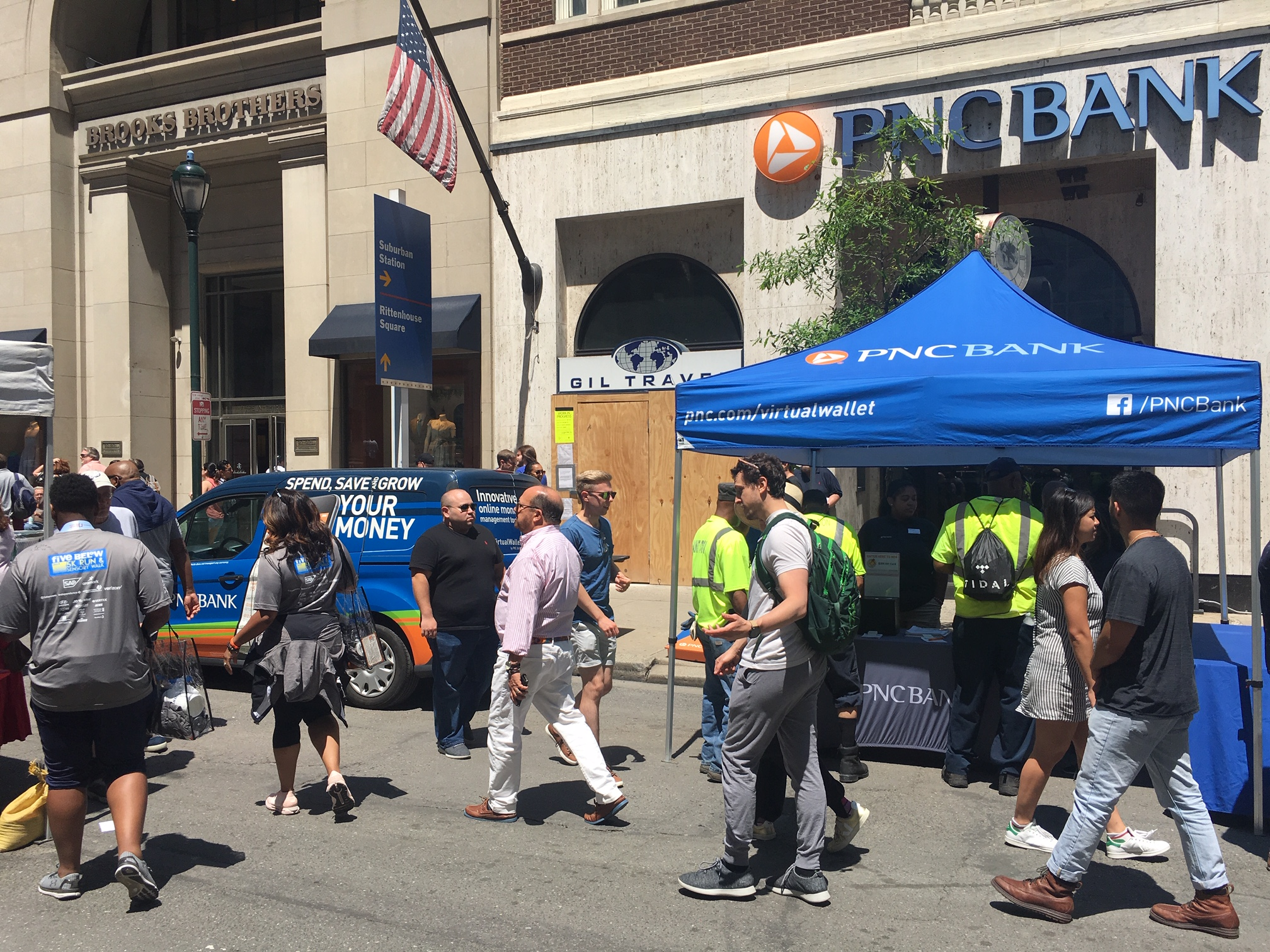 PNC Bank at Rittenhouse Row Spring Festival