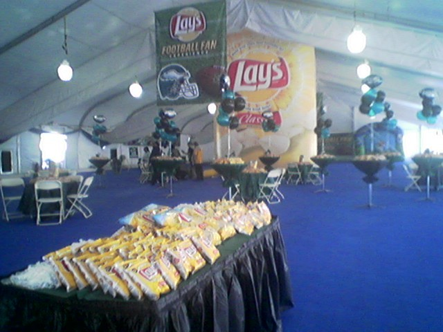 Lay's Football Challenge at Penn's Landing