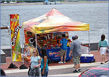 Peanut Chews at Jam on the River at Penn's Landing